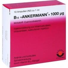 B12 ANKERMANN 1.000 μg Ampullen 10X1 ml