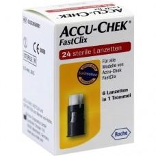 ACCU CHEK FastClix Lanzetten 24 St