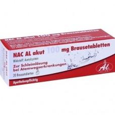 NAC AL akut 100 mg Brausetabletten 20 St