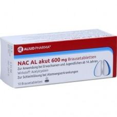 NAC AL akut 600 mg Brausetabletten 10 St