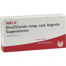 DISCI/Viscum comp.cum Argento Suppositorien 10X2 g