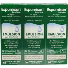 ESPUMISAN Emulsion 3X32 ml