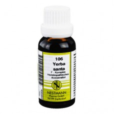 YERBA SANTA F Komplex Nr.106 Dilution 20 ml