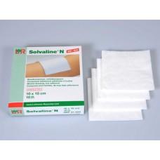 SOLVALINE N Kompressen 10x10 cm steril 10 St