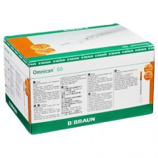 OMNICAN Insulinspr.0,5 ml U100 m.Kan.0,30x8 mm 100 St