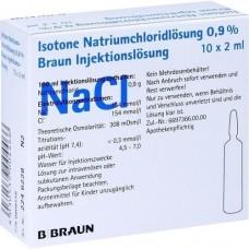KOCHSALZLÖSUNG 0,9% Injektionslösung 10X2 ml