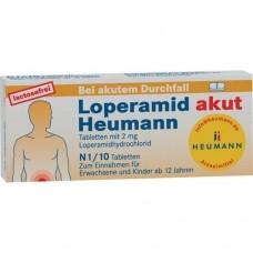 LOPERAMID akut Heumann Tabletten 10 St
