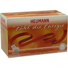 HEUMANN Fühl die Energie Tee Filterbeutel 20 St