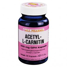 ACETYL-L-CARNITIN 500 mg Kapseln 30 St