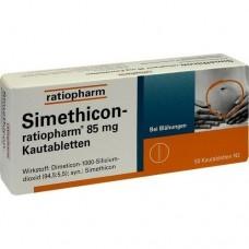 SIMETHICON ratiopharm 85 mg Kautabletten 50 St
