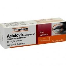 ACICLOVIR ratiopharm Lippenherpescreme 2 g