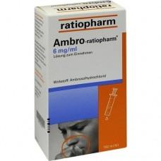 AMBRO RATIOPHARM 6 mg/ml Lösung zum Einnehmen 100 ml