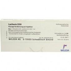 LACHESIS D 30 Ampullen 8X1 ml