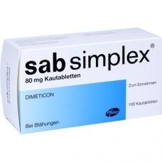 SAB simplex Kautabletten 100 St