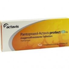PANTOPRAZOL Actavis protect 20 mg magensaftr.Tabl. 7 St