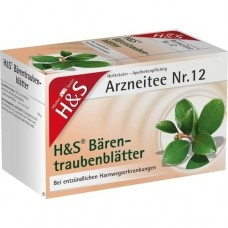 H&S Bärentraubentee Filterbeutel 20 St