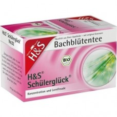 H&S Bachblüten Schülerglück-Tee Filterbeutel 20 St