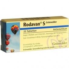 RODAVAN S Grünwalder Tabletten 20 St
