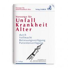 BECK Verlag Unfall Krankheit Alter Broschüre 1 St