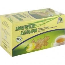 INGWER LEMON Biotee Filterbeutel 20 St
