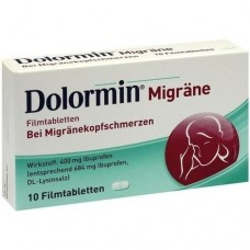 DOLORMIN Migräne Filmtabletten 10 St