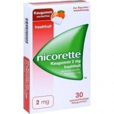 NICORETTE 2 mg freshfruit Kaugummi 30 St