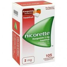 NICORETTE 2 mg freshfruit Kaugummi 105 St