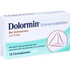 DOLORMIN Filmtabletten 10 St