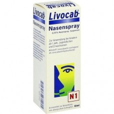 LIVOCAB Nasenspray 10 ml