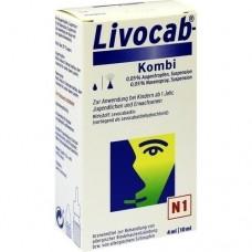 LIVOCAB Kombip.4 ml Augentr.+10 ml Nasenspray 1 St