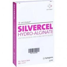 SILVERCEL Hydroalginat Verband 5x5 cm 10 St