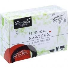 SIDROGA organic Matcha Tee Sticks 12 St