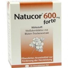 NATUCOR 600 mg forte Filmtabletten 50 St