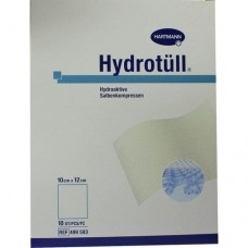 HYDROTUELL hydroaktive Salbenkompressen 10x12 cm 10 St