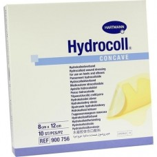 HYDROCOLL concave Wundverband 8x12 cm 10 St