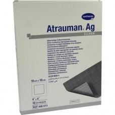ATRAUMAN Ag 10x10 cm steril Kompressen 10 St
