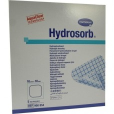 HYDROSORB Wundverband 10x10 cm 5 St