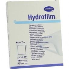 HYDROFILM Transparentverband 6x7 cm 10 St