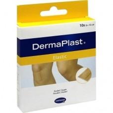 DERMAPLAST elastic Pflaster 8x10 cm 10 St