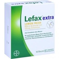 LEFAX extra Lemon Fresh Granulat 16 St