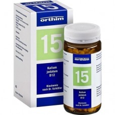 BIOCHEMIE Orthim 15 Kalium jodatum D 12 Tabletten 400 St