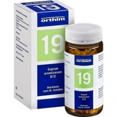 BIOCHEMIE Orthim 19 Cuprum arsenicosum D 12 Tabl. 400 St