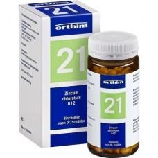 BIOCHEMIE Orthim 21 Zincum chloratum D 12 Tabl. 400 St