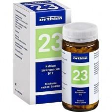 BIOCHEMIE Orthim 23 Natrium bicarbonicum D 12 Tab. 400 St
