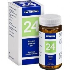 BIOCHEMIE Orthim 24 Arsenum jodatum D 12 Tabletten 400 St