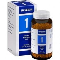 BIOCHEMIE Orthim 1 Calcium fluoratum D 12 Tabl. 800 St