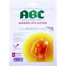 ABC Wärme-Pflaster sensitive Hansaplast med 4 St