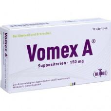 VOMEX A 150 mg Suppositorien 10 St
