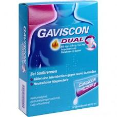 GAVISCON Dual 500mg/213mg/325mg Suspens.im Beutel 12X10 ml